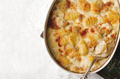 Gorgonzola gnocchi gratin....sooooo good!