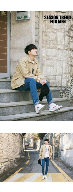 Season trend for men Aboki fashion  Park hyung seok  2017