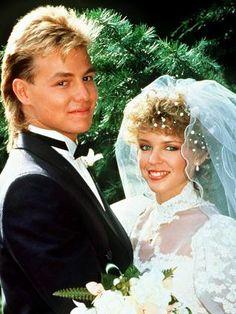 Scott Robinson & Charlene Mitchell. Married on Neighbours - 1 July 1987