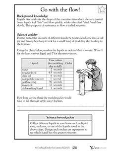 Printables Buoyancy Worksheet what is density the ojays and science viscosity of liquids worksheets activities greatschools