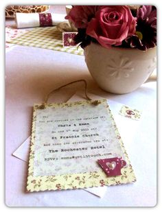 Afternoon Tea Themed Invite