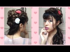 The 1880s Victorian Lady Hairstyle - YouTube