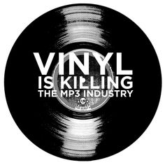 "Counting down to RECORD STORE DAY, we give you ""Vinyl Is Killing The mp3 Industry"" design by Matt Pfahlert. Prices starting at $22 on American Apparel or Anvil Organics. Eco-friendly, water-based ink in multiple colors. Offered on t-shirts, v-neck, infants and kids sizes, adult to 3XL, and more. Produced in the USA and made on Earth. Only at the Global Thread Collective."