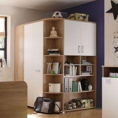 Fancy Begehbarer Kleiderschrank Corner Eckschrank Jugendzimmer Eiche Sonoma in M bel u Wohnen Kinderm bel u Wohnen