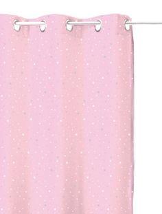 HomeMaison-Tenda oscurante, colore: rosa chiaro, stellato, per camera dei bambini euro 28,63