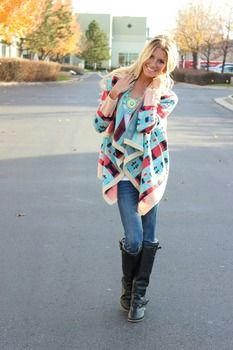 RESTOCK: Tribal Aztec Coveted Sweater ModernVintageBoutique.com