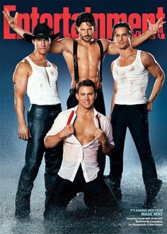 """I feel so manipulated by the media and yet.... I eagerly await its release. """"Magic Mike"""""""