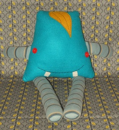 Tili Plush Monster Doll Soft Toy by MaxiMila on Etsy