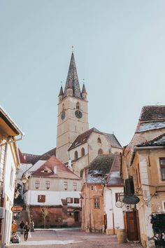 Planning a trip to Sibiu Romania? Here's the complete travel guide to the most colorful town in Romania! Including fun things to do in Sibiu plus everything you need to know before visiting. Cool Places To Visit, Great Places, Places To Go, Beautiful Places, Sibiu Romania, Romania Travel, Royal Caribbean Cruise, Top Place, Beautiful Architecture
