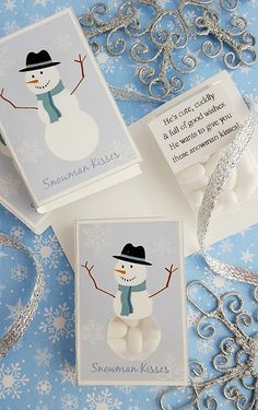 Looking for last-minute Christmas gifts to check off your list? This Snowman kisses printable paired with white Tic Tacs makes an adorable stocking stuffer, co-worker gift or holiday party favor. So easy and inexpensive to make, all you need to do is secure a box of white Tic Tacs to the inside of the printed...Read More »