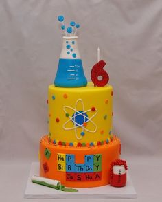 Chemistry/Science Cake