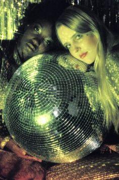 disco ball, I'm in love