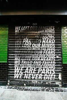 Paris 10 - rue mazagran - street art