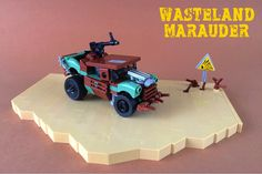 Beware the marauders as you scour the wasteland for supplies