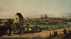 Bild:  Bernardo Bellotto - Ansicht von München