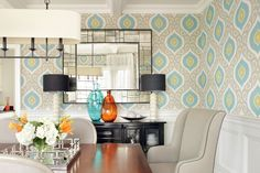 The Hamptons Issue Dining Room Design, Dining Rooms, The Hamptons, It Cast, House Design, Mom, Table, Room Wallpaper, Carrie