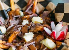 The Food Mash-Up You Have to Try at Q-Tine via @PureWow  Q-Tine, 2339 N. Milwaukee Ave.; 773-227-5100 or q-tine.com  Read more: Memphis meets Montreal at Q-Tine | Food | PureWow Chicago  Sign Up For PureWow's Daily Email