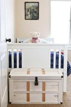 DIY Toy Storage Treasure Chest
