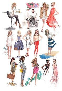 Designer Clothes, Shoes & Bags for Women Women's Clothing, Sketch, Female, Clothes For Women, Woman, Polyvore, Books, Fictional Characters, Inspiration