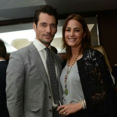 he Marks and Spencer model on his favourite memory of Yasmin Le Bon.