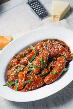 Whether you need to feed friends on gameday or want to put an Italian dinner on the table, slow cooker sausage with peppers and onions is a no-fail recipe. Sausage And Peppers Crockpot, Sausage Peppers And Onions, Stuffed Peppers, Onion Recipes, Meat Recipes, Cooker Recipes, Recipies, Polish Recipes, Pasta Recipes