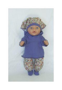 Dukkeklær til dukke 43 cm Crochet Hats, Dolls, Fashion, Tricot, Knitting Hats, Baby Dolls, Moda, Fashion Styles, Puppet