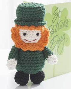 Lucky Leprechaun - crochet free pattern