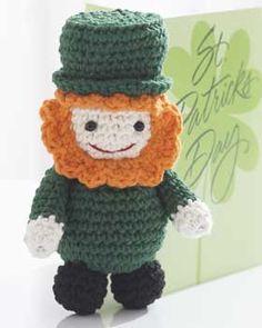 Lucky Leprechaun - crochet free pattern