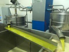 """💡Für die Olivenölproduktion werden Oliven mit einer speziellen Mühle gemahlen, die in der Lage ist, pflanzliche Fruchtteile zu brechen, um das Öl unter Bildung einer homogenen Paste freizusetzen. In allen weiteren Produktionsschritten wird in Anbetracht der Produktbezeichnung """" Extra Virgin"""" (Kalte Extraktion) darauf geachtet, dass die Temperatur von 28 ° nicht überschritten wird. Pesto, Vinegar, Graz, Olives, Education"""