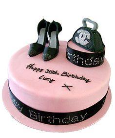 Shoes and Handbag Cake