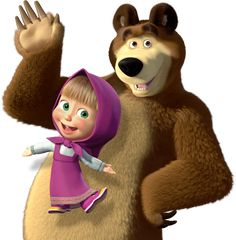 love love love this story !Masha and the Bear