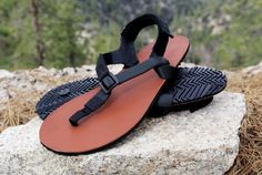 Shamma Warriors with Leather Sandals on Rocks