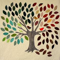 Modern Quilting by B: A Tree for all Seasons