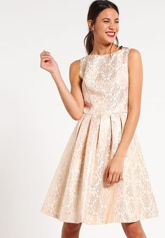 Chi Chi London SANDRA   - Cocktail dress / Party dress - nude for £45.49 (26/01/17) with free delivery at Zalando