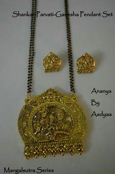 Shankar parvati mangalsutra