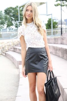 185b731eaf 9 Best Leather skirt images | Leather skater skirts, Leather skirts ...