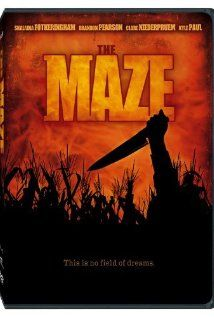 Now watching on Chiller: The Maze. About a group of people who go into a corn maze after hours where a killer stalks them. Get it? Stalks? ...Yea ok.
