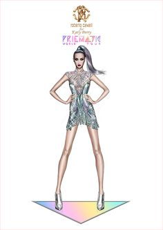 Roberto Cavalli Designs Costumes for Katy Perrys Prismatic Tour