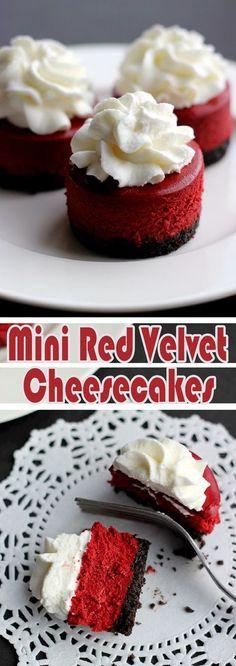Mini Red Velvet Cheesecakes r3