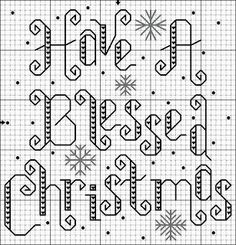 Stitchin' and Life in a Small Town: Blessed Christmas