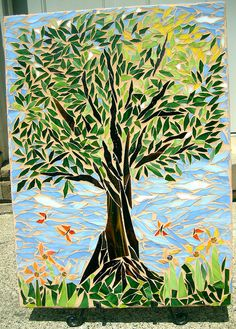 Eight Grade Mosaic- Summer  wonder how much help they had?