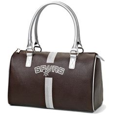 San Antonio Spurs Satchel - Brown