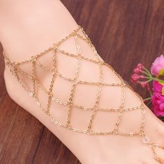 Anklets Careful Uam Gold Silver Color 1 Pc Girl Women Anklet Simple Letter 8 Trendy Hot Sale Summer Charm Bracelet Foot Chain Jewelry New Gifts Drip-Dry Jewelry Sets & More