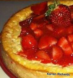 Italian Strawberry Cheesecake #cheesecake #dessert