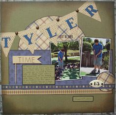 Inspired by a sketch on www.rockpaperscrapbook.blogspot.com