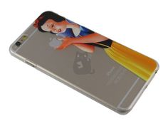 Apple iPhone 6 Plus Snow White Holding Case - SmartCases - iPhone . - Capa Iphone 6 Plus - Apple Iphone 6, Capa Iphone 6 Plus, Capas Iphone 6, Smartphone, Snow White, Snow White Pictures, Sleeping Beauty