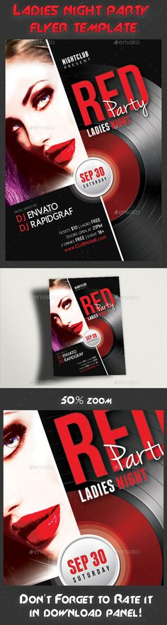Ladies Night Party Flyer Template PSD   Buy and Download: http://graphicriver.net/item/ladies-night-party-flyer-template/8947527?WT.ac=category_thumb&WT.z_author=rapidgraf&ref=ksioks