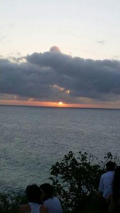 Pôr do sol... Em Noronha!