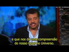 """Bill Moyers interview Neil deGrasse Tyson about the new """"Cosmos"""" (Portuguese Subtitles), part 1"""