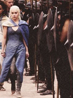 Dany and the Unsullied